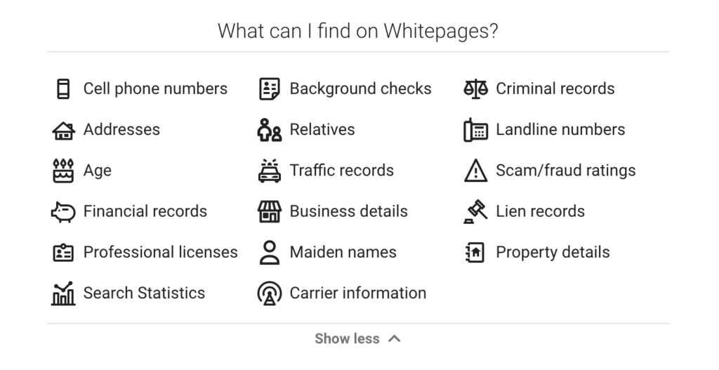 How to delete yourself from whitepages.com